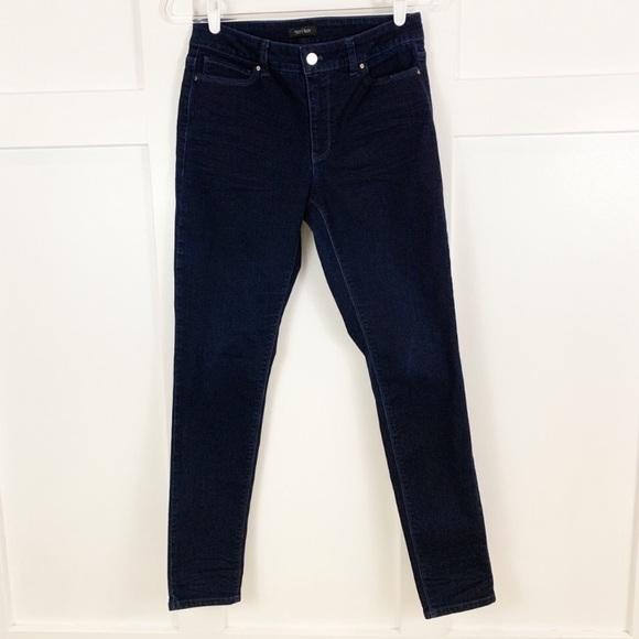 White House Black Market Denim - White House Black Market Dark Wash Skinny Jeans